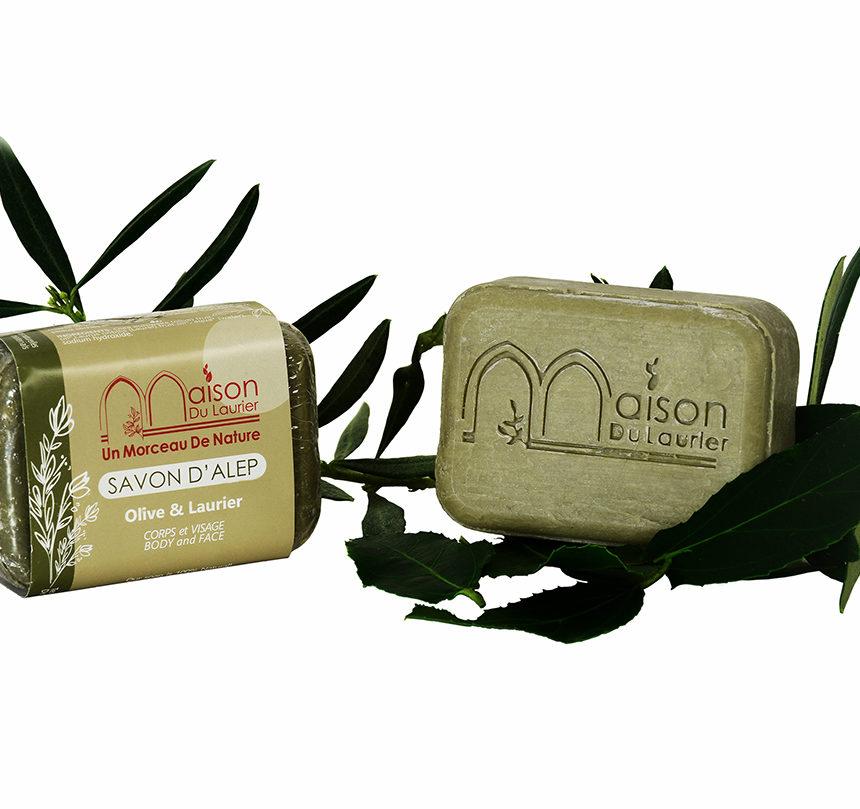 Solid Aleppo soaps